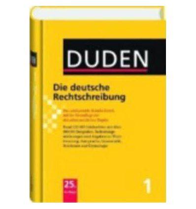 Книга Duden 1. Die deutsche Rechtschreibung ISBN 9783411040155