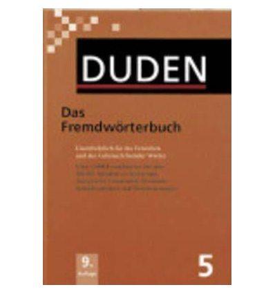 Книга Duden 5. Das Fremdworterbuch ISBN 9783411040605