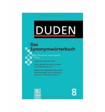 Книга Duden 8. Das Synonymworterbuch ISBN 9783411040858