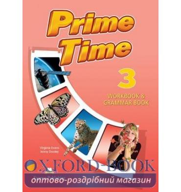 Рабочая тетрадь Prime Time 3 Workbook & Grammar Book ISBN 9781471565878