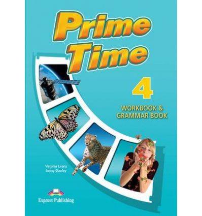 Рабочая тетрадь Prime Time 4 Workbook & Grammar Book (International) ISBN 9781471565885