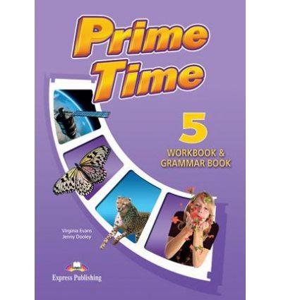 Рабочая тетрадь Prime Time 5 Workbook & Grammar Book ISBN 9781471565892