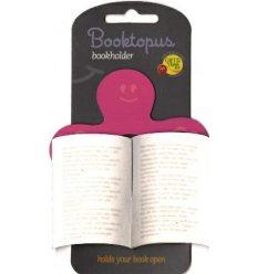 Закладка Booktopus Pink