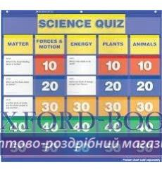 Настенная игра Science Quiz: Grades 2–4 Pocket Chart Add-ons ISBN 9780545301619 купить Киев Украина