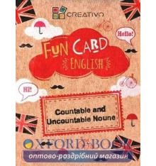 Картки Fun Card English: Countable and Uncountable Nouns ISBN 9788366122055