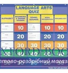 Настенная игра Language Arts Quiz: Grades K–1 Pocket Chart Add-ons ISBN 9780545417532 купить Киев Украина