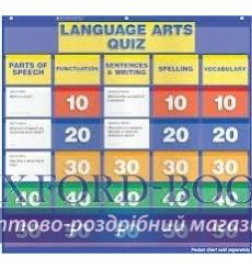 Настенная игра Language Arts Quiz: Grades 2–4 Pocket Chart Add-ons 9780545324182 купить Киев Украина