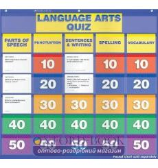 Настенная игра Language Arts Quiz: Grades 5–6 Pocket Chart Add-ons ISBN 9780545417549 купить Киев Украина