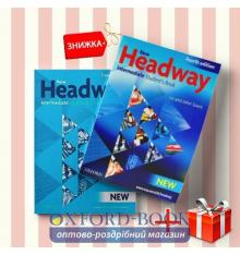 Книги New Headway Intermediate Students book & workbook (комплект: учебник и рабочая тетрадь) Oxford University Press