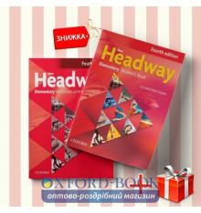 Книги New Headway Elementary Students book & workbook (комплект: учебник и рабочая тетрадь) Oxford University Press