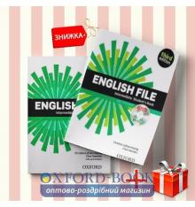 Книги English File Intermediate Students book & workbook (комплект: учебник и рабочая тетрадь) Oxford University Press