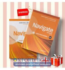 Книги Navigate upper intermediate b2 Coursebook & workbook (комплект: Підручник и Робочий зошит) Oxford University Press