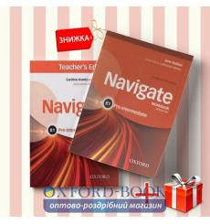 Книги Navigate pre intermediate b1 Coursebook & workbook (комплект: Підручник и Робочий зошит) Oxford University Press