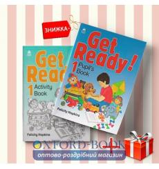 Книги Get Ready 1 Pupils book & activity book (комплект: Підручник и Робочий зошит) Oxford University Press ISBN 9780194339124-1