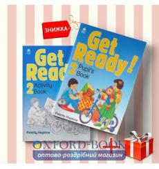 Книги Get Ready 2 Pupils book & activity book (комплект: Підручник и Робочий зошит) Oxford University Press ISBN 9780194339193-1