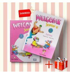 Книги Welcome Starter A Pupils book & activity book (комплект: учебник и рабочая тетрадь) Express Publishing