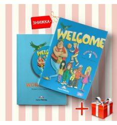 Книги Welcome 1 Pupils book & activity book (комплект: учебник и рабочая тетрадь) Express Publishing ISBN 9781844662005-1