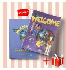 Книги Welcome 3 Pupils book & activity book (комплект: учебник и рабочая тетрадь) Express Publishing ISBN 9781848621572-1