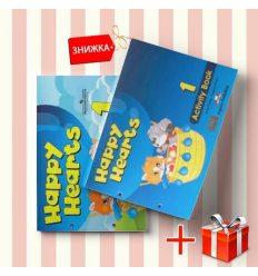 Книги Happy Hearts 1 Pupils book & activity book (комплект: учебник и рабочая тетрадь) Express Publishing ISBN 9781848623378-1