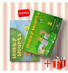 Книги Happy Hearts 2 Pupils book & activity book (комплект: учебник и рабочая тетрадь) Express Publishing ISBN 9781848623385-1