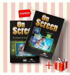 Книги On Screen 1 Students Book & workbook (комплект: учебник и рабочая тетрадь) Express Publishing ISBN 9781471534751-1