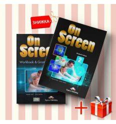 Книги On Screen 2 Students Book & workbook (комплект: учебник и рабочая тетрадь) Express Publishing ISBN 9781471534874-1