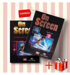 Книги On Screen 3 Students Book & workbook (комплект: учебник и рабочая тетрадь) Express Publishing ISBN 9781471534980-1