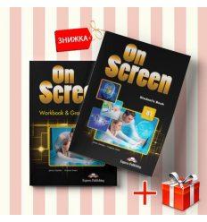 Книги On Screen B1 Students Book & workbook (комплект: учебник и рабочая тетрадь) Express Publishing ISBN 9781471554537-1