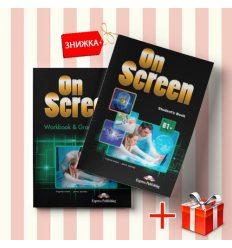 Книги On Screen B1+ Students Book & workbook (комплект: учебник и рабочая тетрадь) Express Publishing ISBN 9781471533082-1