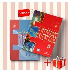 Книги Enterprise 3 Coursebook & workbook (комплект: учебник и рабочая тетрадь) Express Publishing ISBN 9781842168110-1