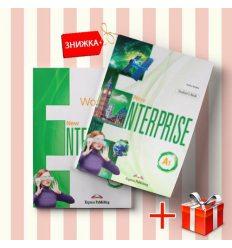 Книги New Enterprise A1 Students Book & workbook (комплект: учебник и рабочая тетрадь) Express Publishing ISBN 9781471569647-1