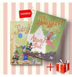 Книги Fairyland Starter Pupils book & activity book (комплект: учебник и рабочая тетрадь) Express Publishing