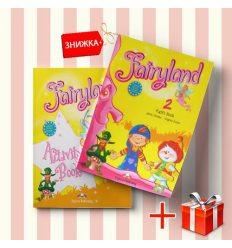Книги Fairyland 2 Pupils book & activity book (комплект: учебник и рабочая тетрадь) Express Publishing ISBN 9781846796548-1