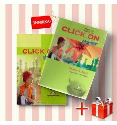 Книги Click On Starter Students Book & workbook (комплект: учебник и рабочая тетрадь) Express Publishing ISBN 9781843256540-1