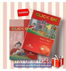 Книги Click On 1 Students Book & workbook (комплект: учебник и рабочая тетрадь) Express Publishing ISBN 9781842166826-1
