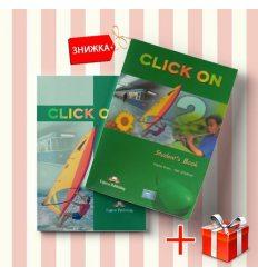 Книги Click On 2 Students Book & workbook (комплект: учебник и рабочая тетрадь) Express Publishing ISBN 9781842167014-1