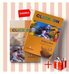 Книги Click On 3 Students Book & workbook (комплект: учебник и рабочая тетрадь) Express Publishing ISBN 9781842167236-1
