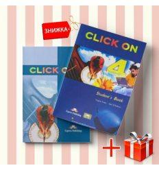 Книги Click On 4 Students Book & workbook (комплект: учебник и рабочая тетрадь) Express Publishing ISBN 9781843257813-1
