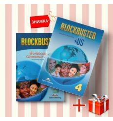 Книги blockbuster 4 Students Book & workbook (комплект: учебник и рабочая тетрадь) Express Publishing ISBN 9781846792700-1