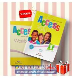 Книги Access 1 Students Book & workbook (комплект: учебник и рабочая тетрадь) Express Publishing ISBN 9781846794704-1