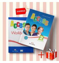 Книги Access 2 Students Book & workbook (комплект: учебник и рабочая тетрадь) Express Publishing ISBN 9781846797811-1