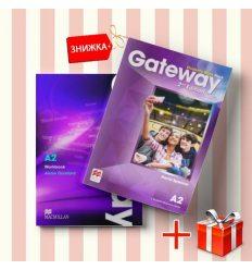 Книги Gateway A2 Students Book & workbook (комплект: учебник и рабочая тетрадь) Macmillan ISBN 9788366000209-1