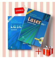 Книги laser A1+ Students Book & workbook (комплект: учебник и рабочая тетрадь) Macmillan ISBN 9780230424609-1