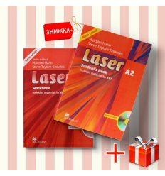 Книги laser A2 Students Book & workbook (комплект: учебник и рабочая тетрадь) Macmillan ISBN 9780230424739-1