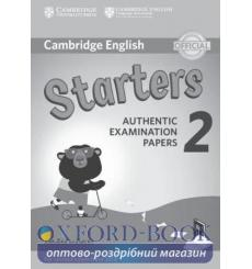 Книга Cambridge English YLE Starters 2 for Revised Exam 2018 Answer Booklet ISBN 9781316636268 купить Киев Украина