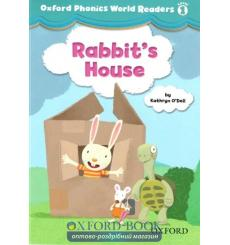 Книга Oxford Phonics World Readers 1 Rabbits House 9780194589055 купить Киев Украина