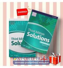 Книги Solutions Elementary Students book & workbook (комплект: учебник и рабочая тетрадь) Oxford University Press