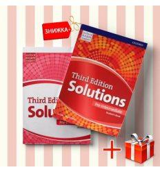 Книги Solutions Pre-intermediate Students book & workbook (комплект: учебник и рабочая тетрадь) Oxford University Press