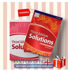 Книги Solutions Pre-intermediate Students book & workbook (комплект: учебник и рабочая тетрадь) Oxford University Press
