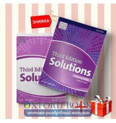 Книги Solutions Intermediate Students book & workbook (комплект: учебник и рабочая тетрадь) Oxford University Press